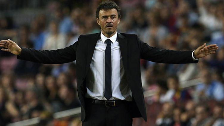 L'entraîneur du FC Barcelone, Luis Enrique