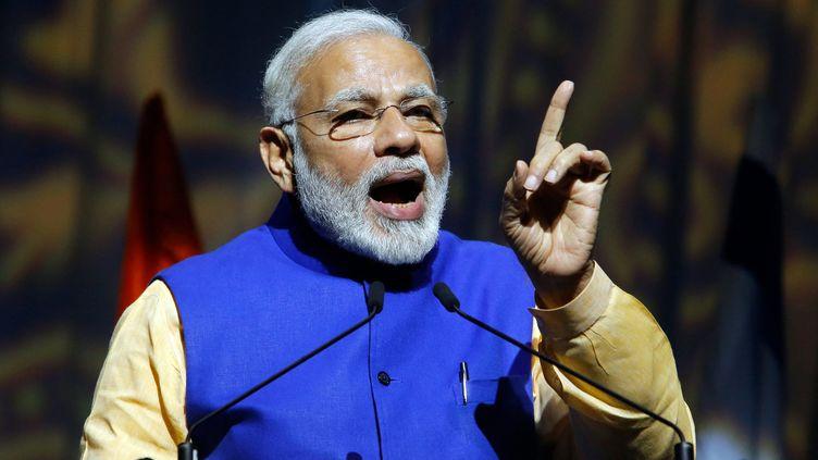 Narendra Modi, Premier ministre indien. (GIL COHEN-MAGEN / AFP)