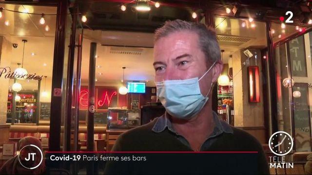 Coronavirus : les propriétaires de bars et cafés parisiens craignent les conséquences d'une nouvelle fermeture