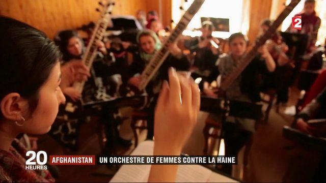 Afghanistan : elles risquent leur vie en jouant dans un orchestre