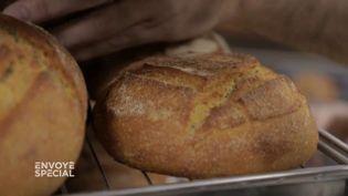 """De l'eau, une farine sicilienne ancestrale… et un levain de 132 ans : la recette d'un pain """"al bacio"""" (ENVOYÉ SPÉCIAL  / FRANCE 2)"""