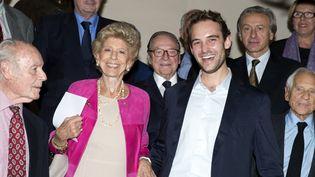 En 2012, le Grand prix de l'Académie Française avait couronné Joël Dicker.  (Miguel Medina / AFP)