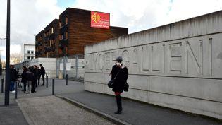 Le lycée professionnel Gallieni de Toulouse (Haute-Garonne), en février 2018. (MAXPPP)