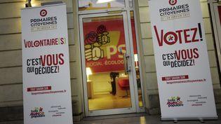 Le siège du PS, rue de Solférino à Paris, le 15 décembre 2016. (DENIS ALLARD/REA)