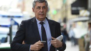 Henri Guaino, ancien conseiller spécial à l'Élysée de Nicolas Sarkozy, le 11 juillet 2017. (BERTRAND GUAY / AFP)