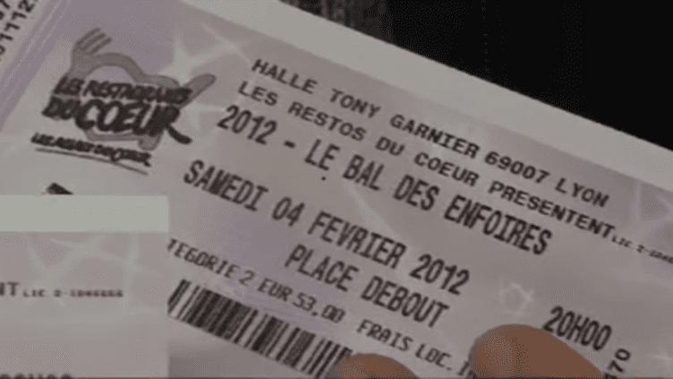 Cette place pour le concert de Lyon coûte officiellement 53 euros  (DR)