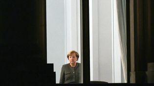 Lachancelière Angela Merkel, le 26 octobre 2017. (MAXPPP)
