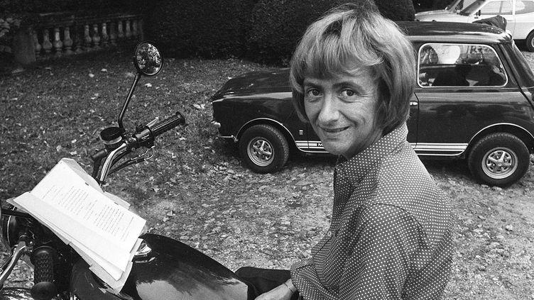 Françoise Sagan dans les années 70  (VALTAT/SIPA)
