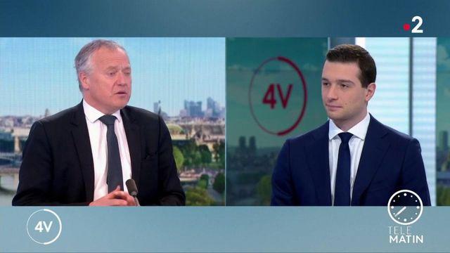 "Covid-19 : pour Jordan Bardella, la France vit un ""Waterloo vaccinal"""