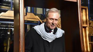 Georges Tron, le 12 décembre 2017 au tribunal de Bobigny (Seine-Saint-Denis). (PATRICE PIERROT / CITIZENSIDE / AFP)