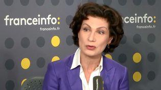 Dominique Carlac'h, porte-parole et vice-présidente du Medef, invitée sur franceinfo, jeudi 17 janvier. (FRANCEINFO)