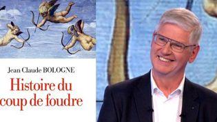 """Jean-Claude Bologne auteur de """"L'histoire du coup de foudre"""" invité sur le plateau de France 3  (France 3 / Culturebox)"""