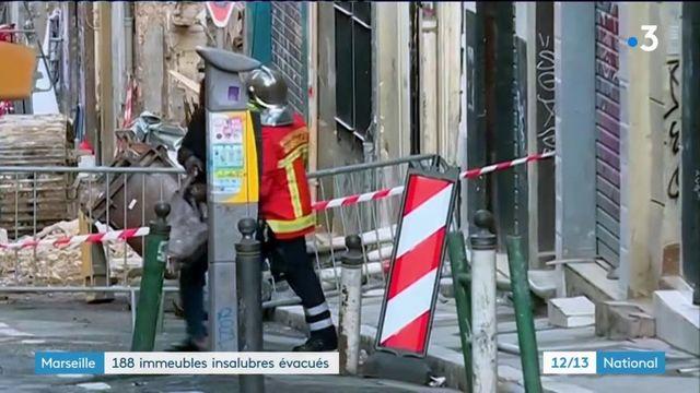 Marseille : 188 immeubles insalubres évacués
