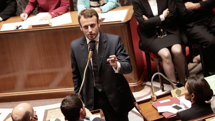 (Emmanuel Macron a présenté ses excuses à l'Assemblée nationale mercredi. © Maxppp)