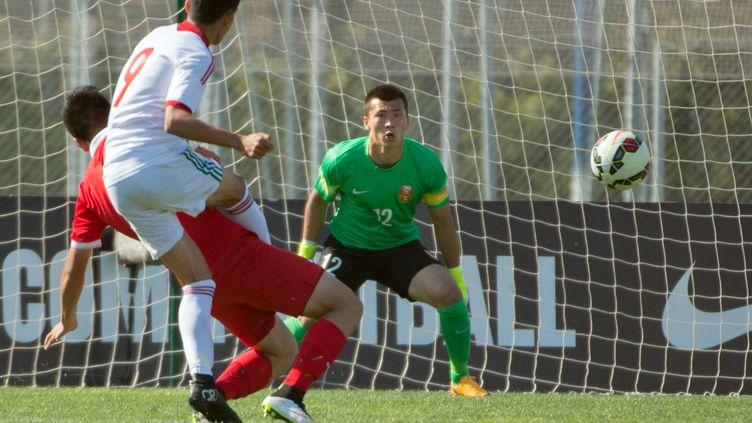 L'équipe du Maroc défiera la France en finale du tournoi de Toulon (BERTRAND LANGLOIS / AFP)