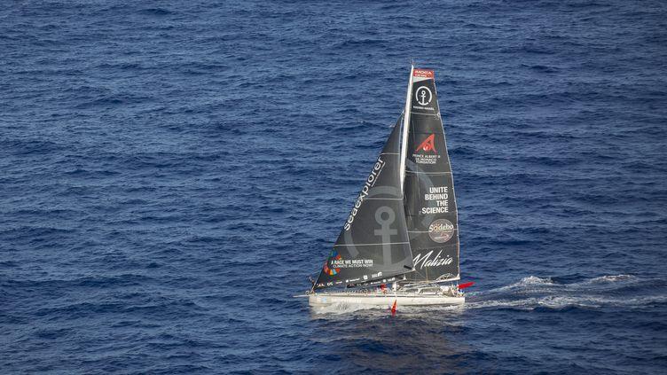 L'Allemand Boris Herrmann (Sea Explorer - Yacht Club de Monaco), ici au large du Brésil le 15 janvier, a termine le Vendée Globe après une dernière mésaventure qui lui a peut-être coûté la victoire. (NEWMAN HOMRICH / NEWMAN HOMRICH)
