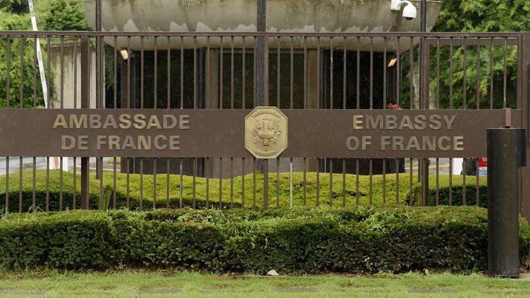 L'ambassade de France à Washington (Etats-Unis) le 1er juillet 2013. ( MAXPPP)