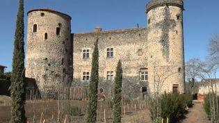 La château de Saint-Vidal, en Haute-Loire. (FRANCE 2)