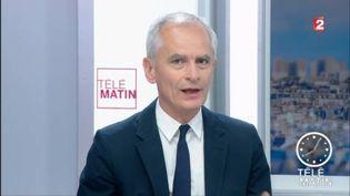 Arnaud Boutet, du service politique de France 2. (FRANCE 2)