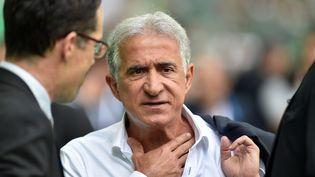 Bernard Caiazzo, le président du syndicat des clubs de Ligue 1, en mai 2018. (YVES SALVAT / MAXPPP)