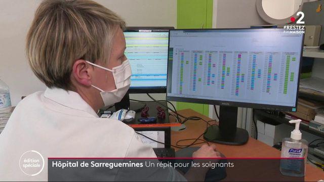 Coronavirus : un peu de répit pour le personnel d'un service de réanimation en Moselle