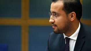 Alexandre Benalla, lors d'une audition devant la commission des lois du Sénat, le 19 septembre 2018. (THIBAULT CAMUS/AP/SIPA / AP)