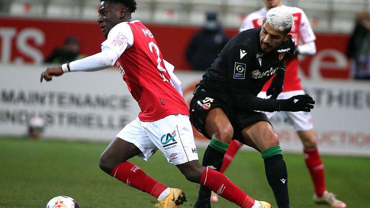 Reims joue contre Lens (FRANCOIS NASCIMBENI / AFP)