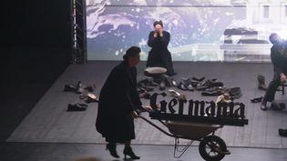 Siegfried, nocturne d'Olivier Py et Michael Jarrel, sur la scène du Théâtre Graslin à Nantes. (CAPTURE D'ÉCRAN FRANCE 3 / David JOUILLAT)