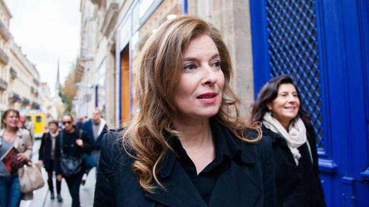 L'ancienne première dame,Valérie Trierweiler, le 14 novembre 2014, à Paris. (SIPA)