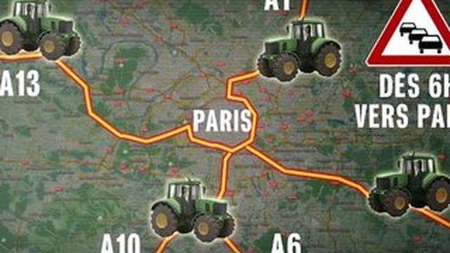 Mobilisation des agriculteurs : À quoi faut-il s'attendre jeudi à Paris ?