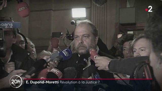 Critiqué, Éric Dupond-Moretti prône l'apaisement et l'unité