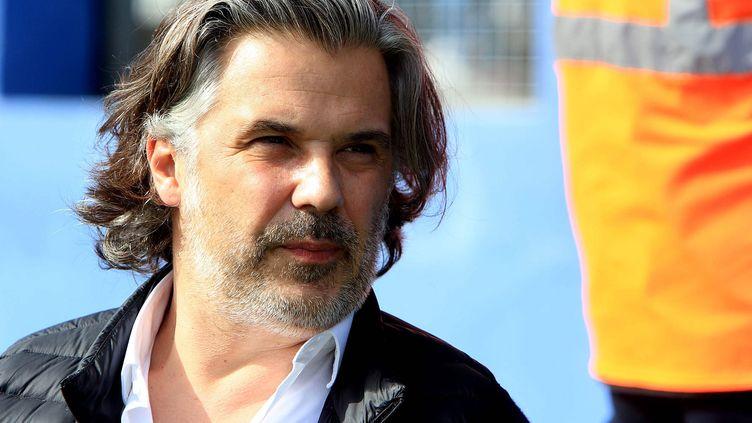 Vincent Labrune, ancien président de l'OM.  (XAVIER GRIMALDI / MAXPPP)