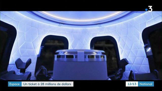Blue Origin : un ticket à 28 millions de dollars pour aller dans l'espace