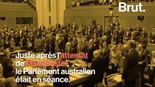 Le Parlement australien était réuni peu de temps après l'attentat du 23 mai à l'Arena de Manchester. Le leader de l'opposition Bill Shorten a eu une pensée pour les victimes.  (Brut)