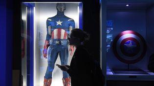 "Exposition ""MARVEL: The Avengers. Secret Base"" de Moscou, en 2017.  (Evgeny Biyatov / Sputnik)"