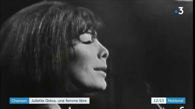 Musique : Juliette Gréco, l'intemporelle qui chantait les femmes libres