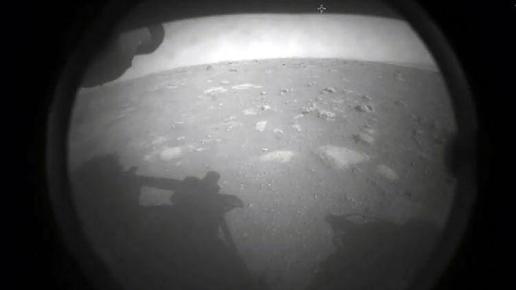 Le robot de la Nasa, Perseverance, a atterri sur Mars, le 18 février 2021. (HANDOUT / NASA)