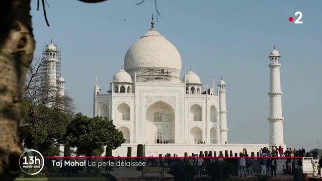 Covid-19 : le Taj Mahal délaissé par les touristes