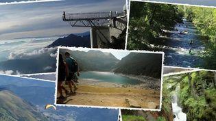 Durant l'été 2021, de nombreux touristes ont choisi d'opter pour une destination en France plutôt qu'à l'étranger. Plusieurs d'entre eux se sont rendus dans les Hautes-Pyrénées pour profiter de magnifiques paysages comme à Saint-Lary Soulan. (CAPTURE ECRAN FRANCE 2)