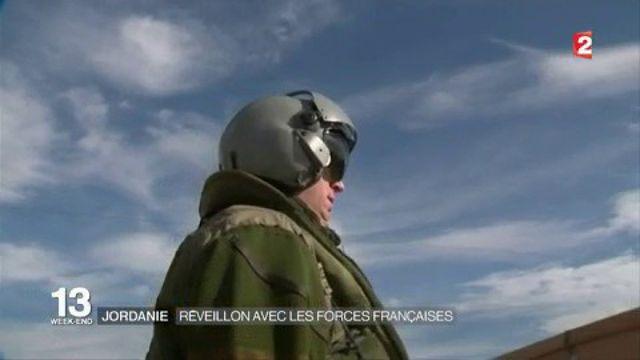 Jordanie : réveillon avec les forces françaises