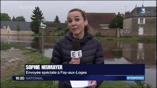 Inondations : une solidarité réconfortante à Fay-aux-Loges (Loiret)