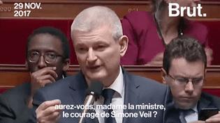 Fin de vie : un député demande à la ministre de la Santé d'avoir « le courage de Simone Veil » (BRUT)