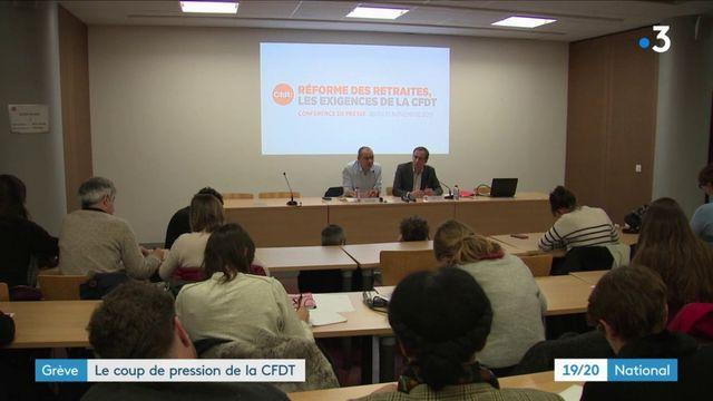 Grève du 5 décembre : la CFDT fait monter la pression sur la réforme des retraites