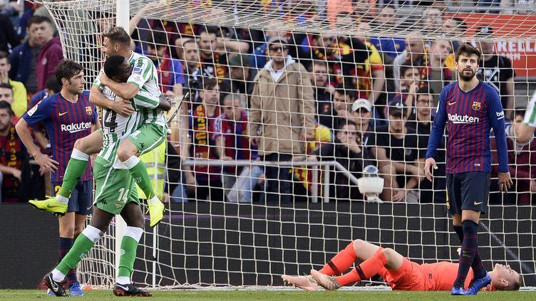Le Betis Séville crucifie le Barça (JOSEP LAGO / AFP)