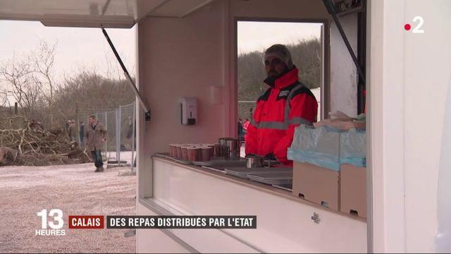 Calais : les repas sont distribués aux migrants par l'État depuis ce mardi