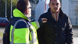 Benjamin Cauchy à Toulouse, le 21 novembre. (PASCAL PAVANI / AFP)