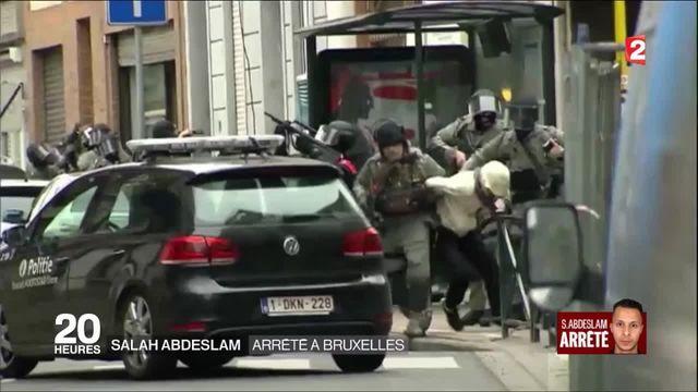 Arrestation de Salah Abdeslam ; les images de l'interpellation à Molenbeek