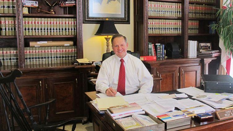 Le juge Roy Moore, candidat à la Cour suprême de l'Alabama. (ON)