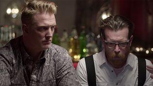 Josh Homme et Jesse Hugues de Eagles of Death Metal.  (saisie écran / Vice)