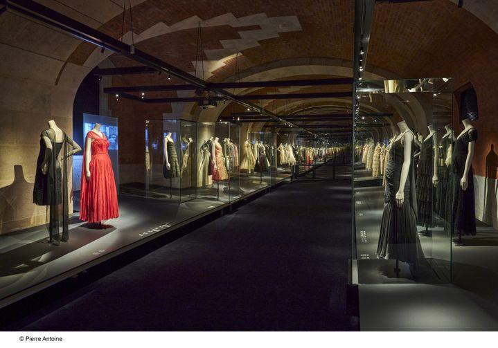 Les caves voûtées du Palais Galliera,musée de la Mode de la Ville de Paris, en 2020 (PIERRE ANTOINE)